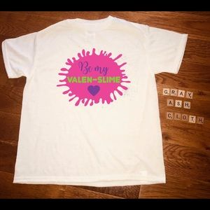 Valentine's Day slime shirt NEW